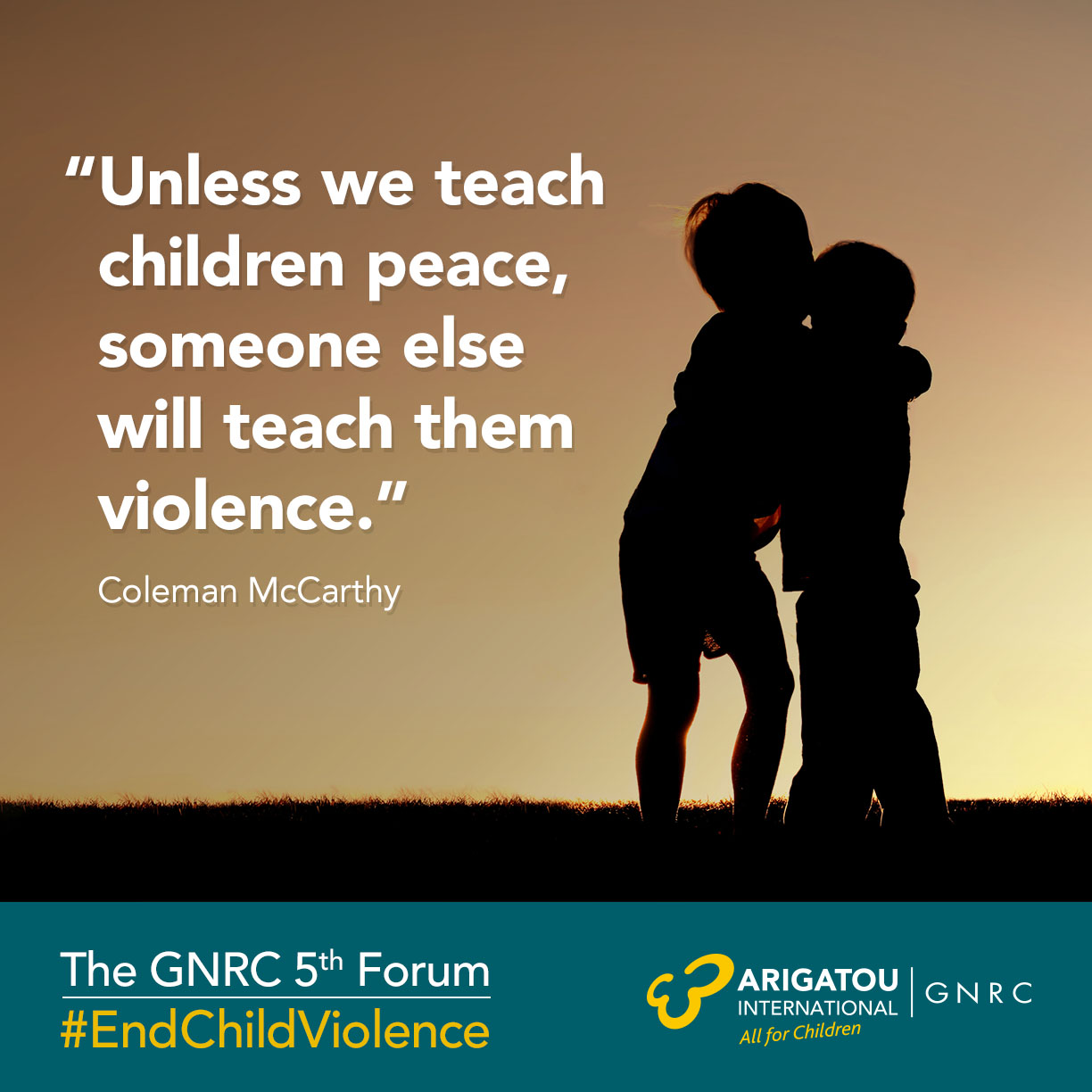 Teach Peace Quotes: Global Network Of Religions For Children