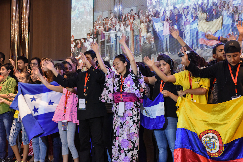 Children perform at the GNRC 5th Forum