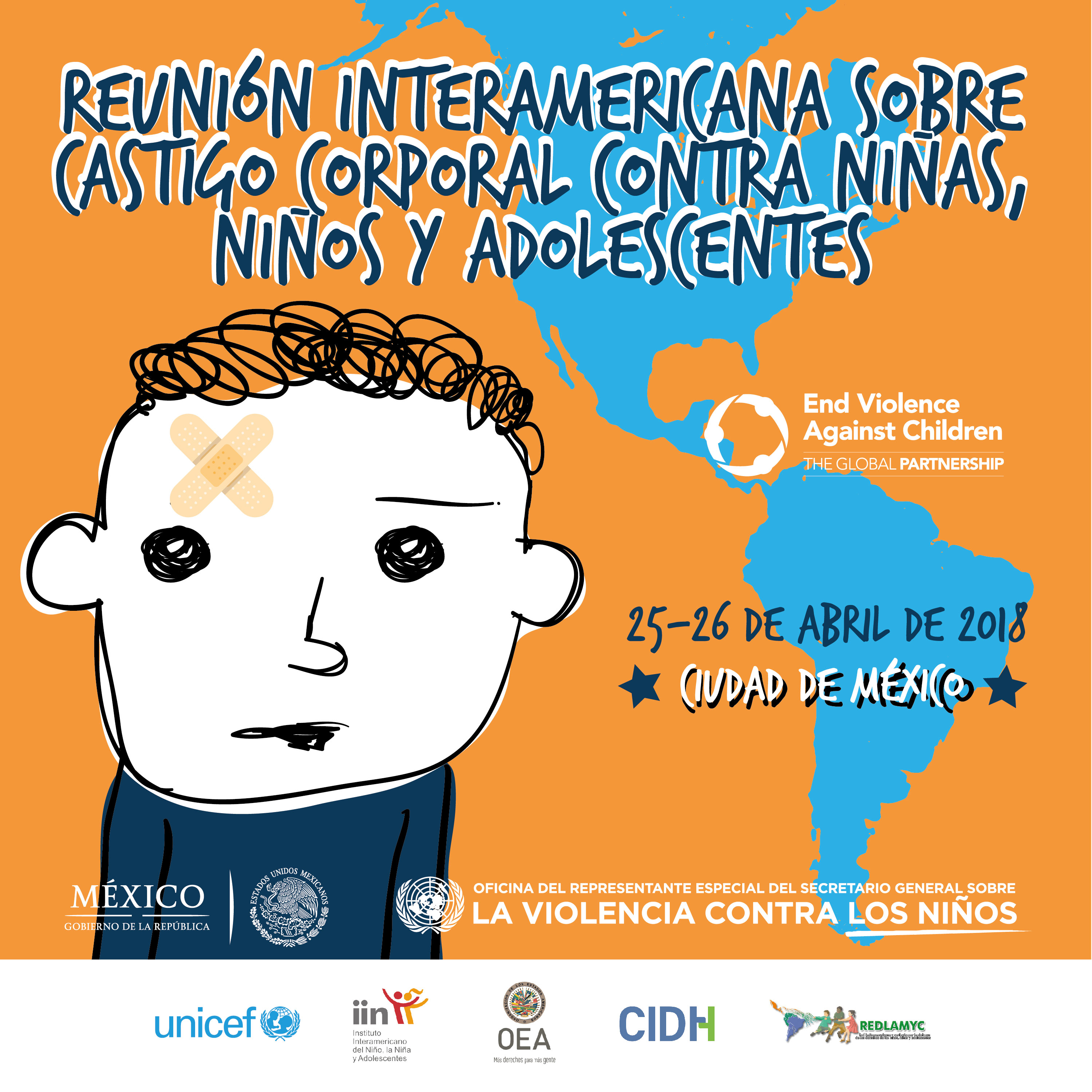 GNRC Participates in the Inter-American Meeting on Corporal Punishment of Children