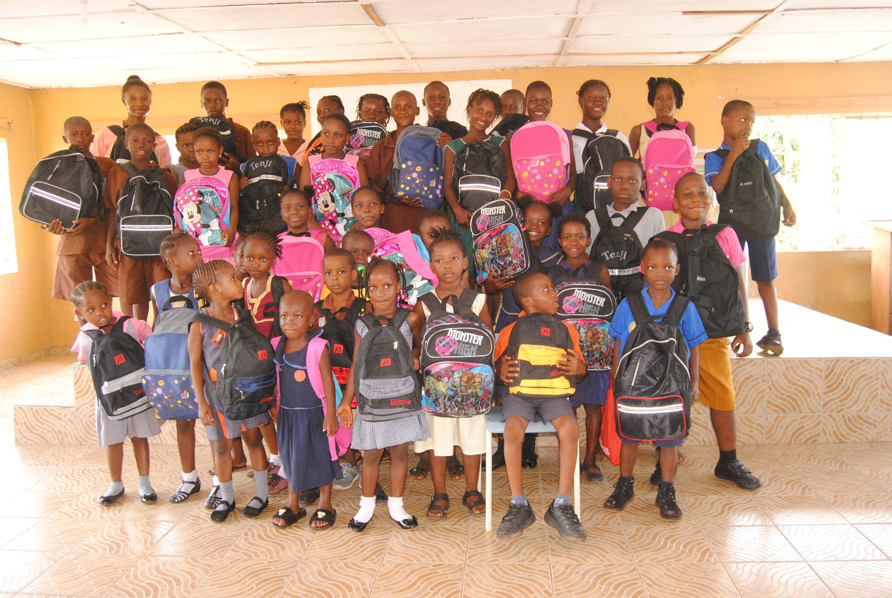 Providing Learning Assistance to Deprived Communities in Freetown, Sierra Leone