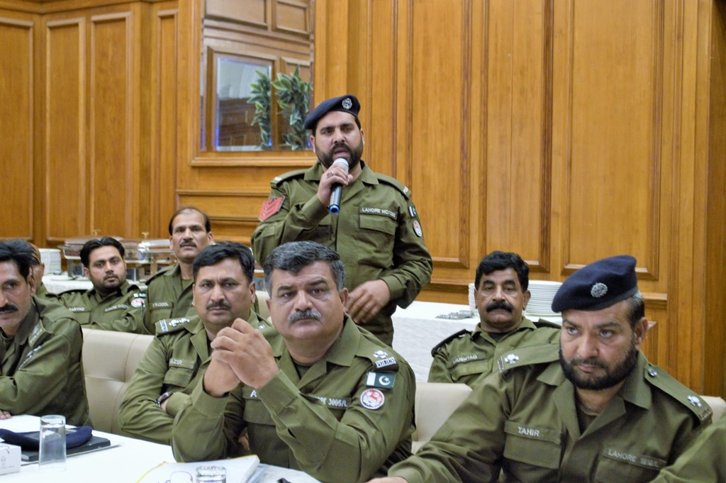 Pakistan Police Worshop May20183