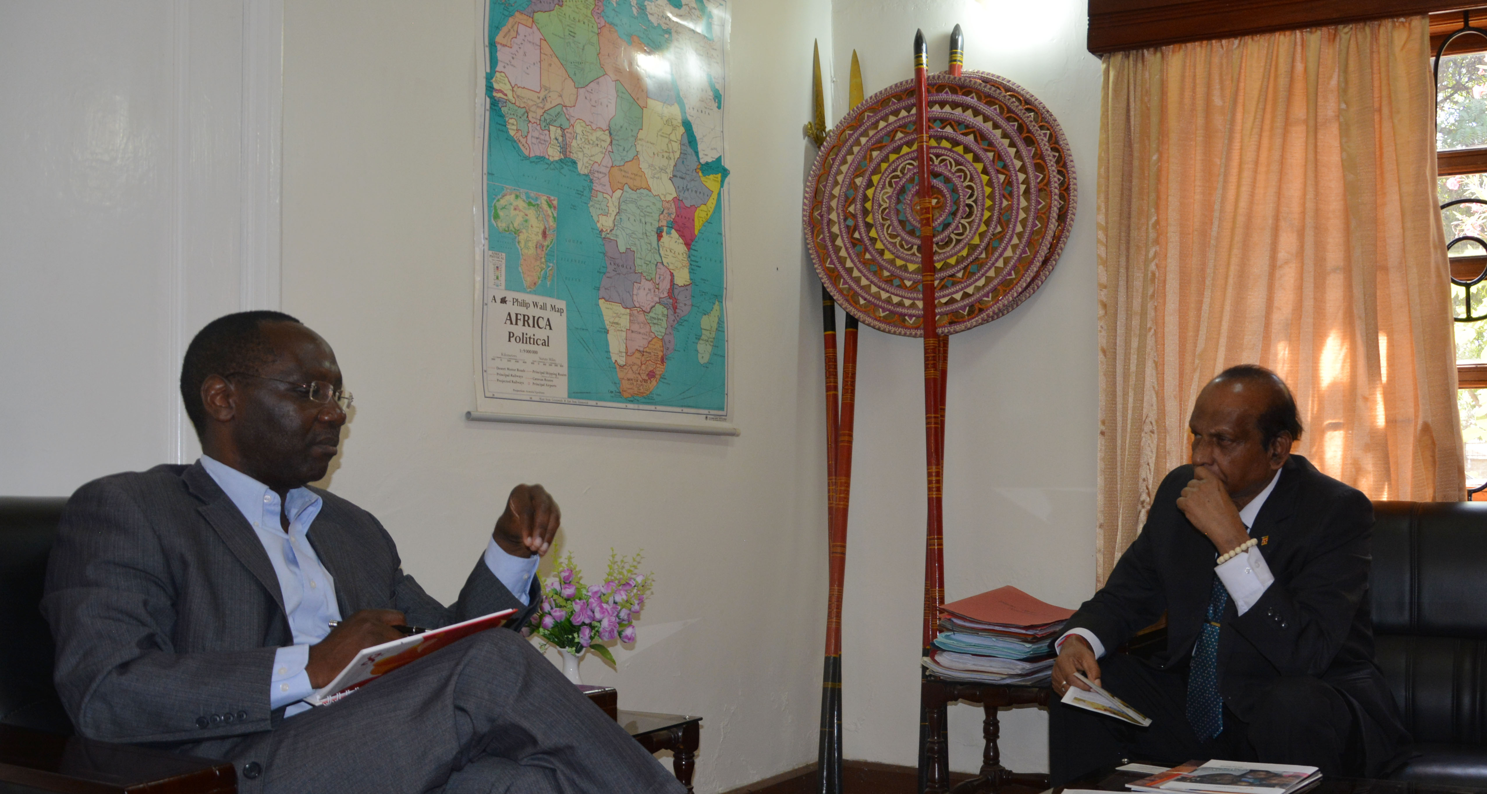 Rev Nyabera and High Commissioner Sri Lanka3