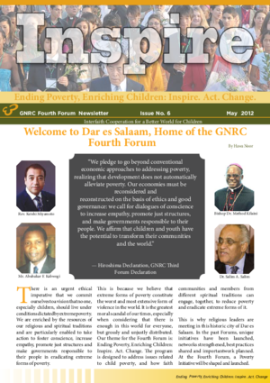 Fourth Forum Newsletter 6 thumbnail
