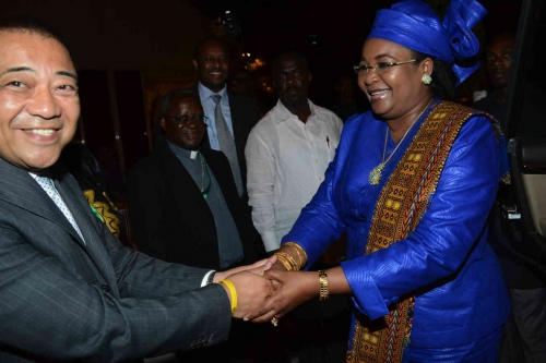 Rev. Keishi Miyamoto Dinner (H.E. Salma Kikwete, Guest of Honor 17 June 2012)